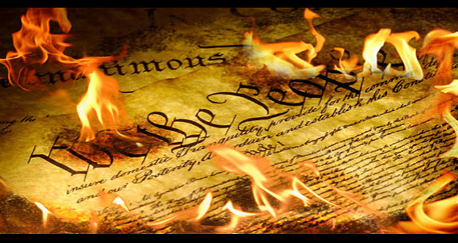 Image result for constitution burning