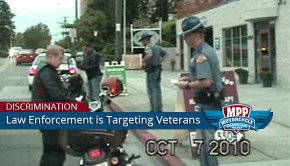 law enforcement targeting veterans