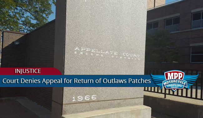 Seizure Of Outlaws MC Patches Upheld in Appeals Court
