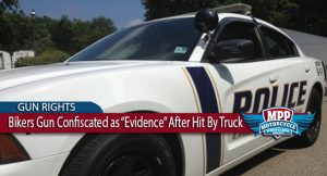 PA Biker's Firearm Illegally Seized After Major Injury Accident