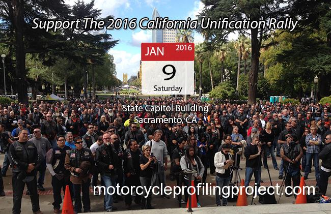 Support the 2016 California Motorcycle Unification Rally
