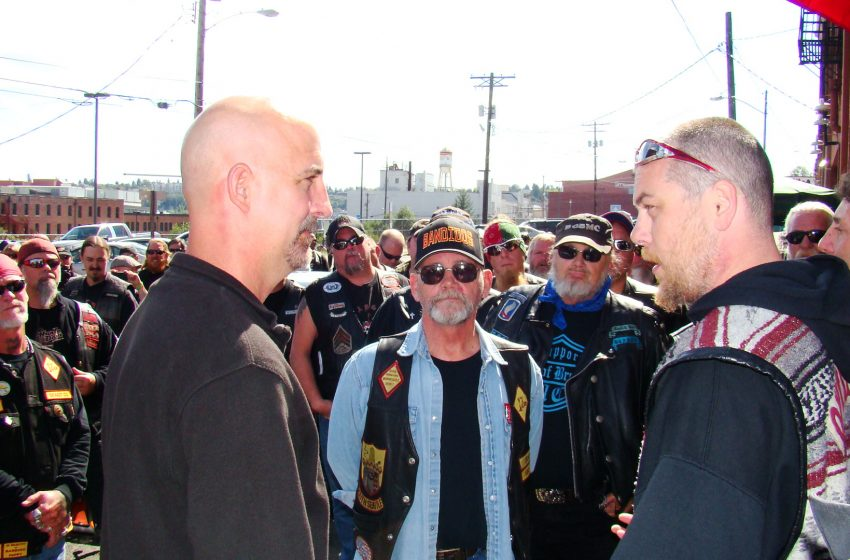 Successful Protest Lifts No Motorcycle Colors Policy
