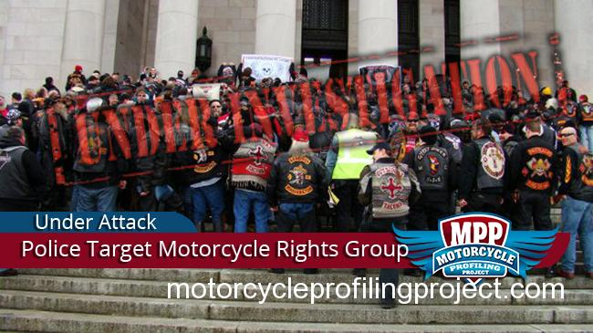 Washington State Patrol Illegally and Covertly Targeting Motorcycle Rights Activists