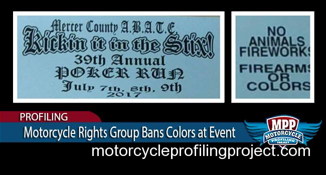 ABATE of Pennsylvania Turns Their Back on Motorcycle Clubs