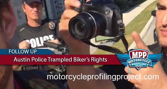 Video Proves Austin Police Trampled Bikers Rights
