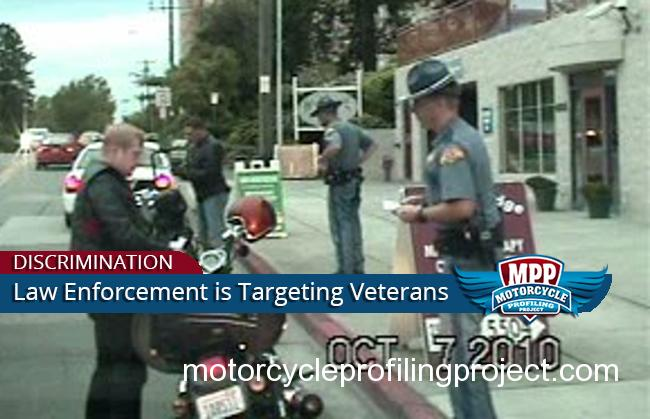 Veterans in Motorcycle Clubs Targeted for Harassment