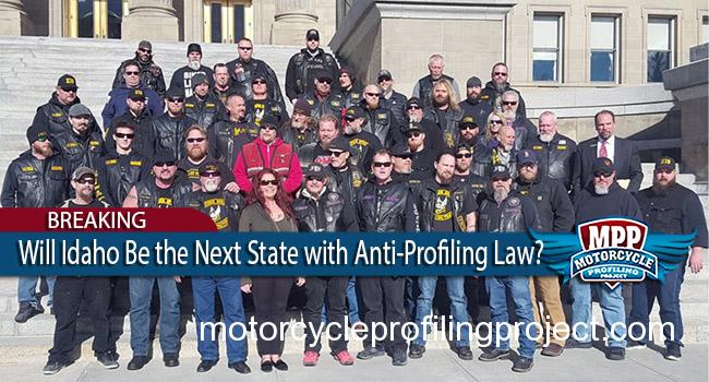 Idaho House Unanimously Approves Anti-Motorcycle Profiling Bill