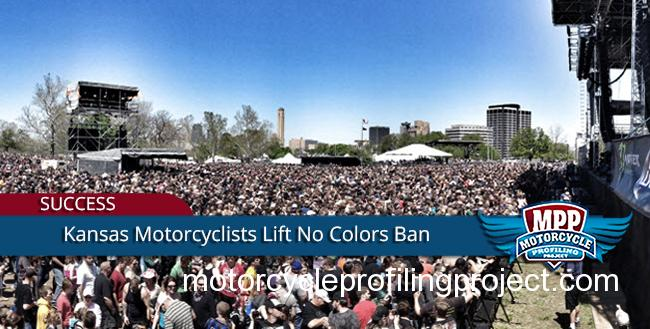"Victory For Kansas City Motorcyclists-Rockfest Lifts ""No Colors"" Ban."