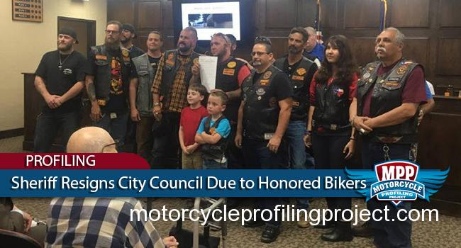 Texas Sheriff Dave Mann Resigns from City Council After Bikers Honored