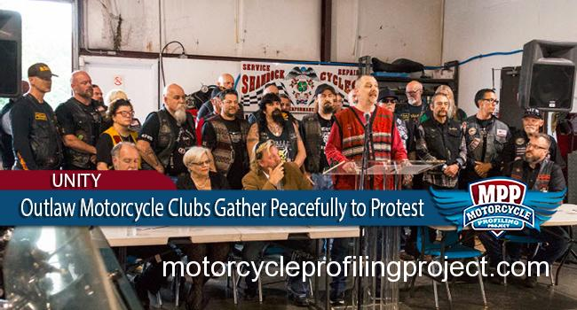 Outlaw Motorcycle Clubs Peacefully Assemble