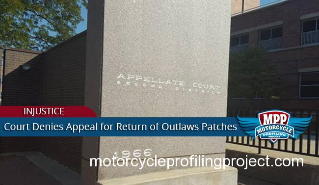 Seizure Of Outlaws MC Patches Upheld by Appeals Court