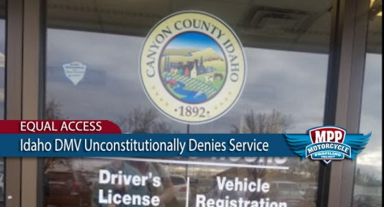 Idaho DMV Unconstitutionally Denies Service For Motorcycle Club Colors